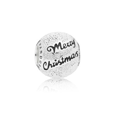 Charm en plata de ley Merry Christmas