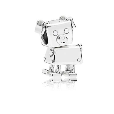 Charm en plata de ley Bobby Bot