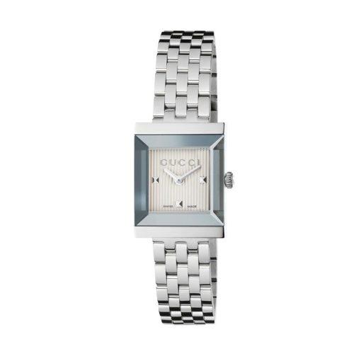 steel case / silver guilloché dial / steel bracelet