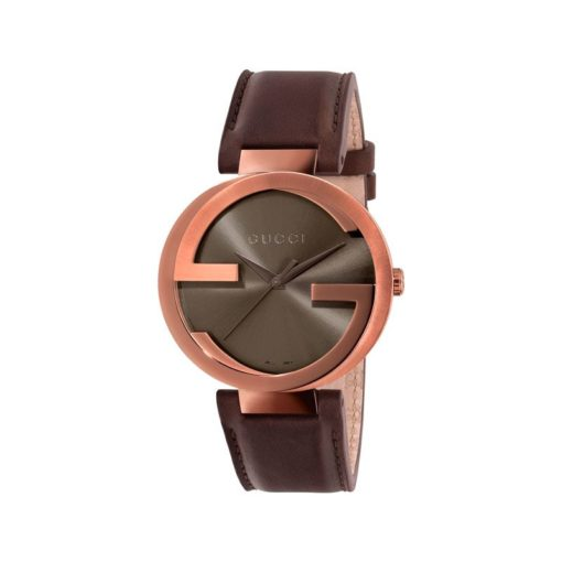 brown pvd case / brown sun-brushed dial / brown leather strap
