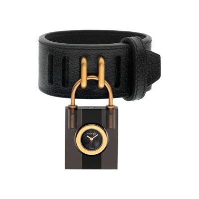 150 sm / grey-black-grey web plexiglas case / black mother of pearl dial / black leather strap