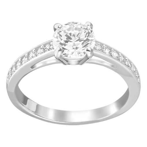 ATTRACT:ANILLO RND PAVE CZWH/RHS 50