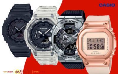 Elegancia y modernidad en los relojes Casio